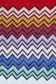 Missoni scarf print