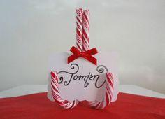 FinaFrun.se, christmas, polka, candy cane, Candle, table settings, diy, dinner settings, christmas dinner, santa