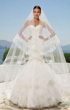 Courtesy of Justin Alexander Wedding Dresses; Wedding dress idea.