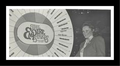 Remember when they used to get superstars to do this Empire Stakes drawings?  Here Miss Connie Francis gives the wheel a whirl.