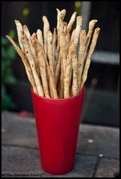 Whole Wheat Rosemary Bread Sticks