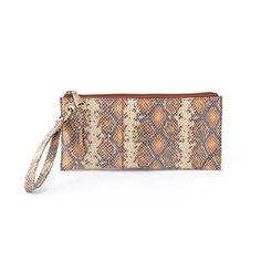 Leather Zip Around Wallet - camo feather wallet by VIDA VIDA cSOid