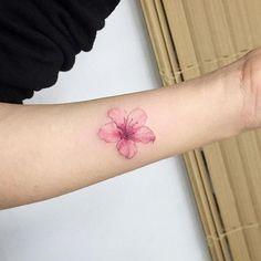 60 Tatuagens de Flor de Cerejeira