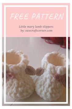 Crochet Baby Sandals, Knit Baby Booties, Crochet Baby Clothes, Newborn Crochet, Baby Booties Free Pattern, Baby Shoes Pattern, Baby Patterns, Crochet Baby Bootie Pattern, Doll Patterns