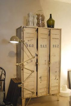 industrial locker storage  I want this in my kitchen to use as a pantry