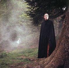 "feuillestomber: ""Christopher Lee and Veronica Carlson, location shooting in Black Park. Dracula Has Risen From the Grave. Vampire Film, Vampire Dracula, Vampire Stories, Vampire Art, Gothic Horror, Arte Horror, Horror Art, Gothic 1, Hammer Horror Films"