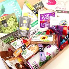 #MyFoxyBoxes has something for everyone. This subscription box is designed for female athletes in vegan, paleo, endurance and gym options. Review on my blog, http://rawdorable.blogspot.com #subscriptionbox #fitness