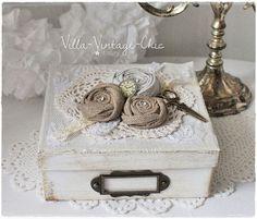 ♥Schachtel ♥ shabby french Rosen von Villa-Vintage-Chic auf DaWanda.com