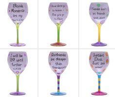 Free Fun & Fab Findings: Fun, Decorative Wine Glasses on Sale Now!