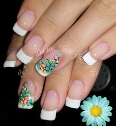 Cute Nail Art, Cute Nails, Art Deco Design, French Nails, Nail Arts, Pedicure, Simple Designs, Nail Designs, Ideas