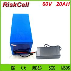 Free Customs taxes and shipping 60v 20ah high power rechargeable 26650 battery pack 60 volt lithium battery for solar system