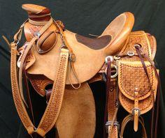 1/2 Tooled Saddles - Frecker's Saddlery Gallery
