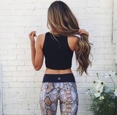 Trendy Workout Outfits That'll Instantly Motivate You These workout clothes make cute workout outfits!The Outfit The Outfit or Outfit may refer to: Cute Workout Outfits, Fitness Outfits, Workout Attire, Workout Wear, Fitness Fashion, Fitness Gear, Yoga Fashion, Workout Pants, Fashion Outfits