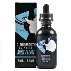 Something new to vape at eJuices.com: Cloudmouth Vapors....  Find it online at: http://www.ejuices.com/products/cloudmouth-vapors-more-please?utm_campaign=social_autopilot&utm_source=pin&utm_medium=pin.
