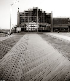 Asbury Park Boardwalk. Mom & Dad Honeymooned here in 1943. Visited every Summer as a child in '50's & '60's!