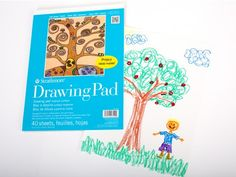 Drawing Paper Pad - Paper - DIY Materials | Kids Crafts & Activities for Children | Kiwi Crate $3.95