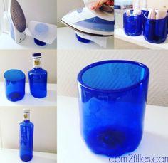 DIY : des bouteilles plastiques transformées en pots