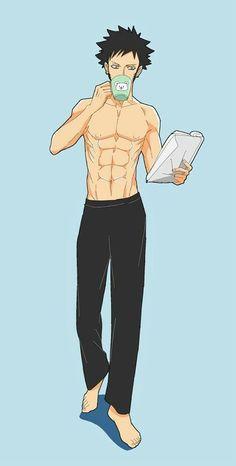 One Piece Comic, One Piece Fanart, One Piece Anime, Trafalgar D Water Law, Itachi, Blessing Bags, 0ne Piece, One Piece Pictures, Handsome Anime Guys
