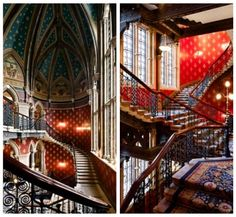 St Pancras Hotel... were we staying overnight, and had we slightly deeper pockets, this would be the place to stay.