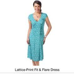 Dress Blue Printed Dress Dresses Midi