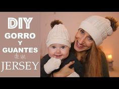 DIY GORRO Y GUANTES DE UN JERSEY VIEJO Guantes f5600edb97e
