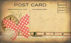 Free Printable Postcard