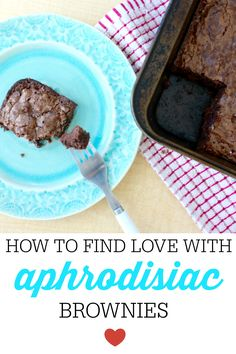 You don't know what  aphrodisiac brownies are?  It's ok we have you covered. #brownies #trend #recipe