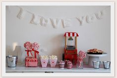 x-mas pyjama-party - Pigiama Party - Christmas - Cinema - Pop-corn - Party Ideas - Sweets - Decoration - Events - Feast Day - Candy buffet