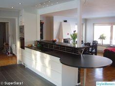 Trädgårdsplank - Hemma hos Don-T Plank, Garden Design, Kitchen, Table, Pergola, Inspiration, Furniture, Home Decor, Biblical Inspiration