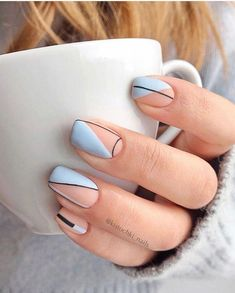 More than 40 cute nail designs Summer designs 2020 # # Cute Summer Nail Designs, Cute Summer Nails, Short Nail Designs, Cute Nails, Pretty Nails, Nail Summer, Natural Nail Designs, Elegant Nail Designs, Cute Designs