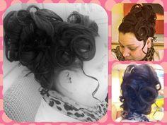 Apostolic Hairstyle. Up Do More
