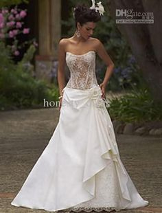 Stunning Sheer Corset Wedding Dresses Images - Styles & Ideas 2018 ...