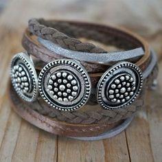 ☮ American Hippie Bohemian Boho Style ~ Jewelry .. Wrap Bracelet