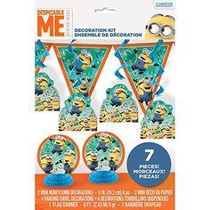 Despicable Me Party Decoration Kit, 7pc Unique http://www.amazon.com/dp/B00YVINEV4/ref=cm_sw_r_pi_dp_yYzGwb0Y71XNS