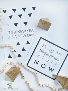 Free New Years Print