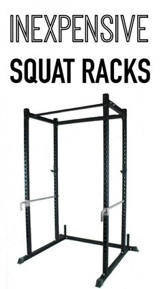 Where to buy quality squat racks for a better price. These inexpensive squat racks are hundreds of dollars less than others!!