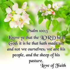 Psalm 100:3 KJV