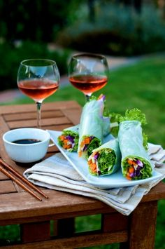 Vegetable Spring Rolls Recipe from Rice Paper Spring Rolls