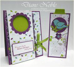 Diane's Designs: Bookmark Card Tutorial