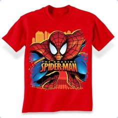 Spiderman Pounce T-Shirt Comic Clothes, Marvel Shirt, Miffy, Boys Pajamas, Baby Prints, Young Boys, Two Piece Swimsuits, Boys T Shirts, Kids Wear
