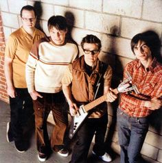 Weezer! these boys will always hold a special place in my heart.