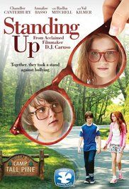 Standing Up Movie Full. Two kids befriend each other after being left stripped nude in a lake as the victims of an immature summer camp prank. They run away from camp and for three days learn more about each other than they've ever known before.