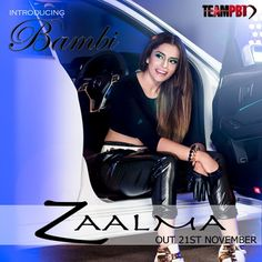 Bambi Bains launches her single Zaalma Itunes Charts, Film Movie, Movies, Bambi, Gentleman, Music Videos, Bollywood, Product Launch, Glamour