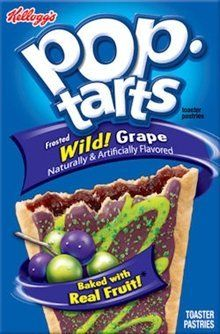 Kellogg's Pop-Tarts Frosted Wild Grape Toaster Pastries 8 ct (Pack of Pop Tart Flavors, Candy Pop, Snack Recipes, Snacks, Weird Food, Breakfast Time, Junk Food, Pop Tarts, Sweet Tooth