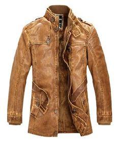 Biker leather jacket retro style