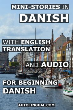 Learn the Danish Language with Dialogues and Audio complete with English translations. I recorded the audio files and did the translations myself in the hopes that this might hope people learning Danish Danish Language Learning, Foreign Language Teaching, How To Speak French, Learn French, Learn English, French Lessons, Spanish Lessons, Teaching French, Teaching Spanish