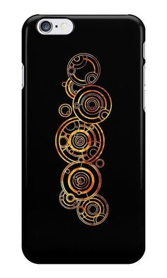Doctor Who iPhone Case: Doctor's Gallifreyan Name case ($25)