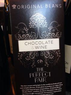 Chocolate wine at Salon du Chocolat Paris 2013