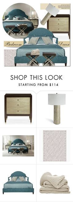 """""""Bedroom Decor"""" by kathykuohome ❤ liked on Polyvore featuring interior, interiors, interior design, home, home decor, interior decorating, bedroom, Home and homeset"""