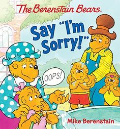 The Berenstain Bears Say I'm Sorry! by Mike Berenstain http://www.amazon.com/dp/0824919548/ref=cm_sw_r_pi_dp_8fcqvb0ZDQHJV